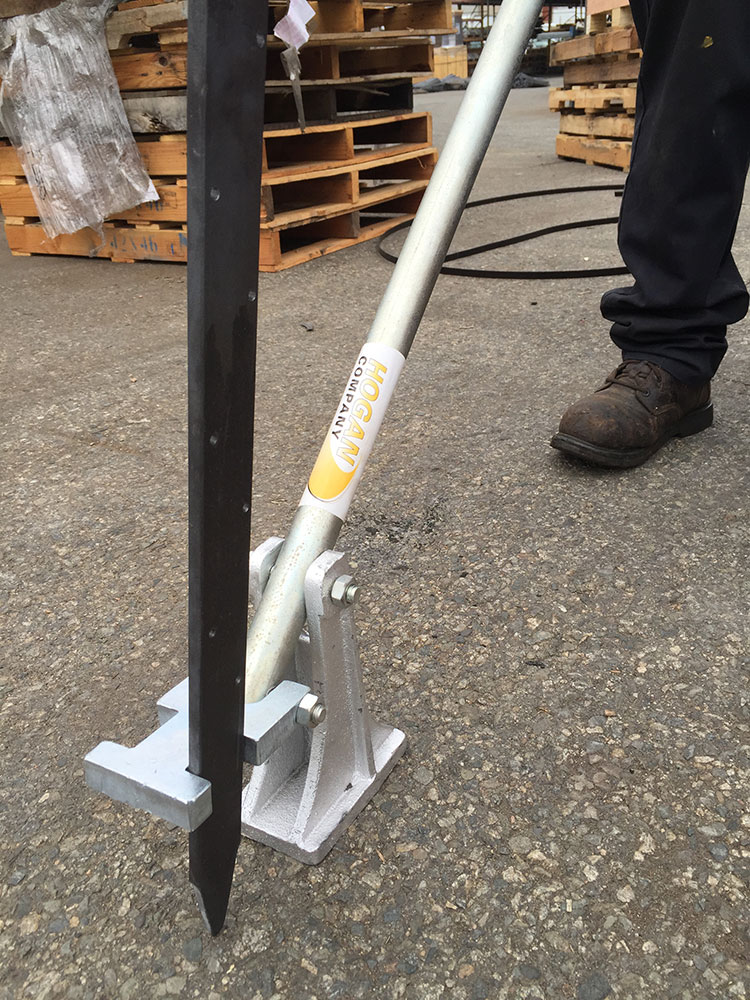 Stake Puller With Two Plates Hogan Domestic Stakes