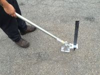 "Puller with flat nail stake ""FB"""