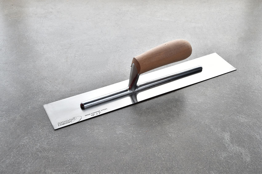 16 X 3 Finishing Trowel Wood Handle Square