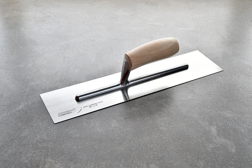 16 X 4 Finishing Trowel Wood Handle Square