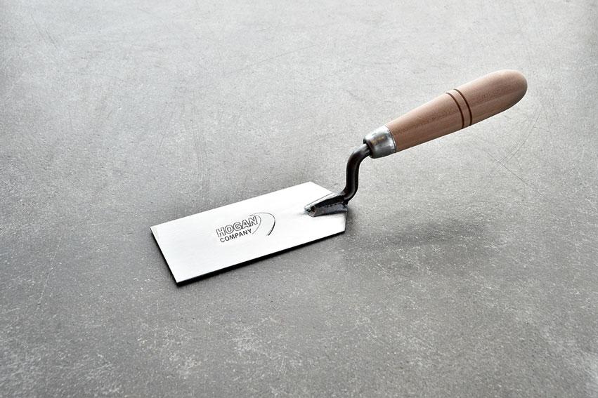 5 12 Trowel : Margin trowel wood handle hogan domestic stakes
