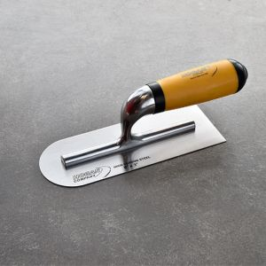 8 X 3 Finishing Trowel Comfort-Grip Handle Round & Square Edges
