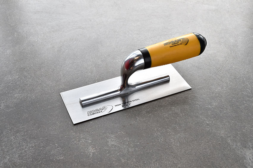 Finishing Trowel, 8 x 3 square - soft handle