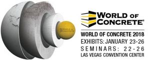 World of Concrete Las Vegas 2018